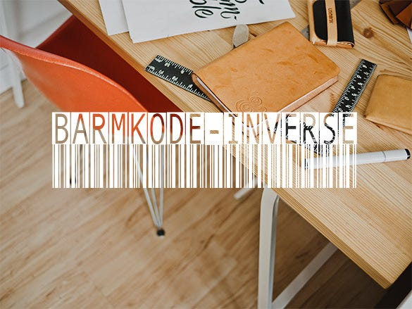 barmkode inverse barcode font donwload