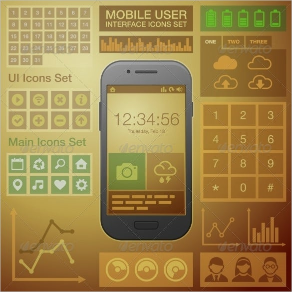 amazing mobile user interface design