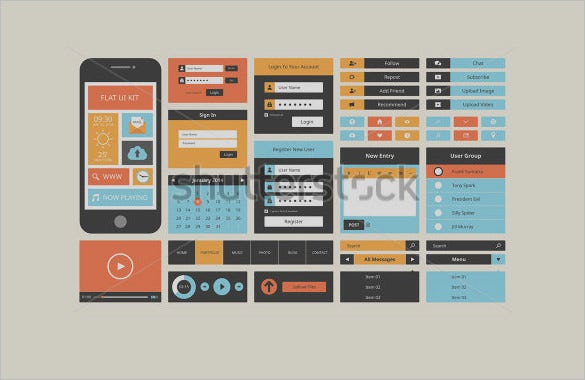 creative mobile user interface designs