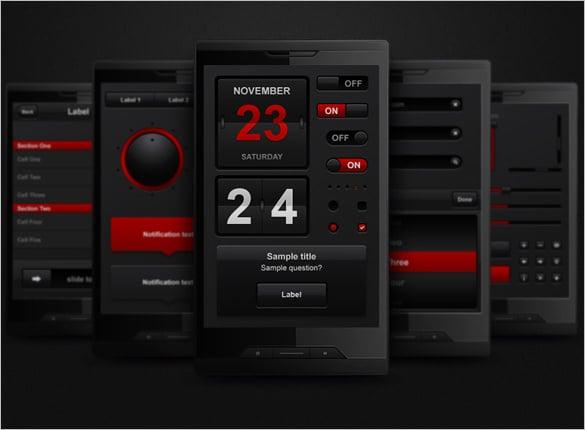 mobile user interface designs