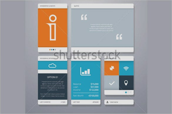amazing mobile user interface designs for vector