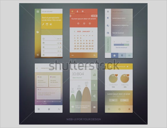 best modern mobile user interface designs