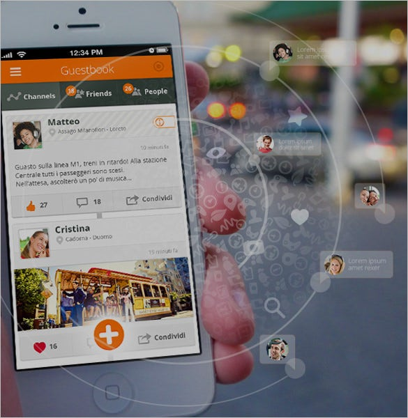 mobile user interface designs collections to download
