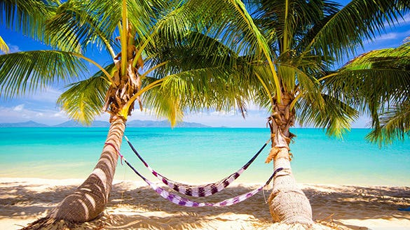download tropical beach nature desktop background