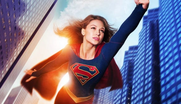 supergirl 3d desktop backgrounds