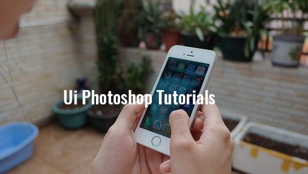 ui photoshop tutorials