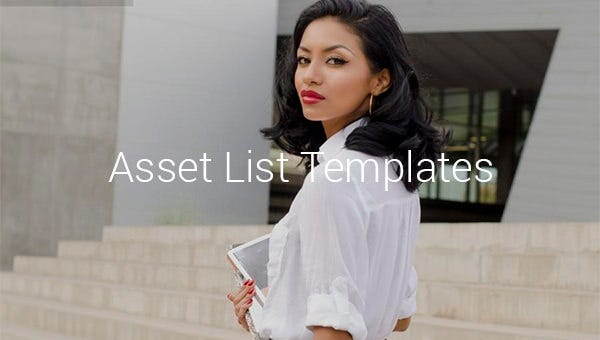 asset list template1