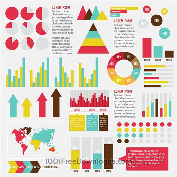 astonishing free infographic element template
