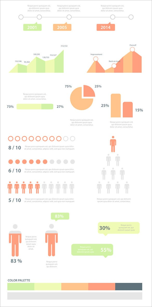 infographic vector element template for you