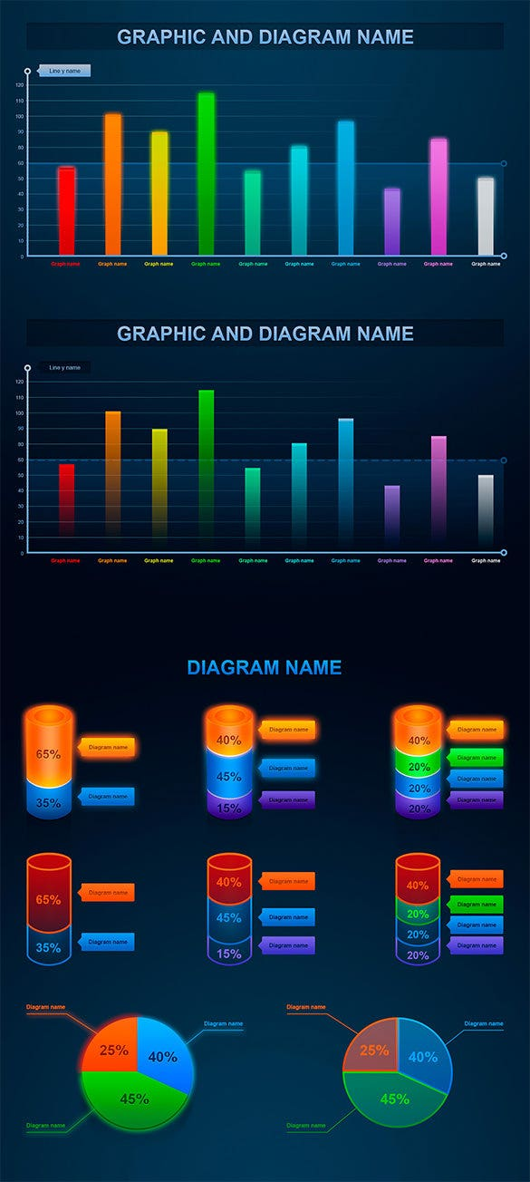 infographic elements template for free