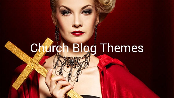 church blog themes