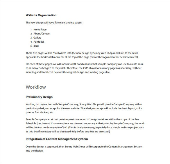 Proposal Template 140 Free Word PDF Format Download – Proposal Template