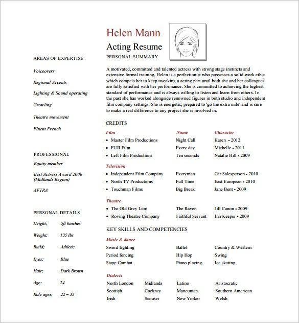 37+ Resume Template - Word, Excel, PDF, PSD