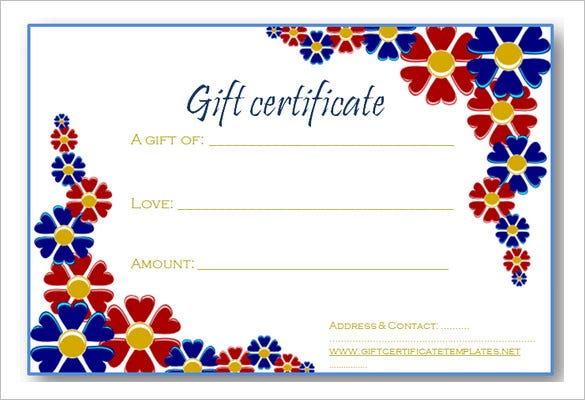 Gift Certificate Template - 32+ Examples in PDF, Word In Design ...