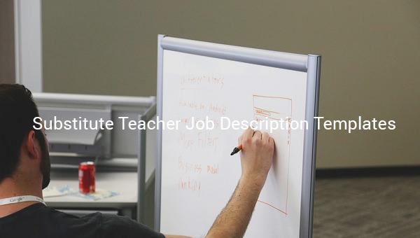 substituteteacherjobdescriptiontemplate