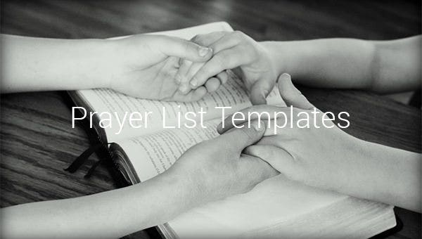 prayerlisttemplate