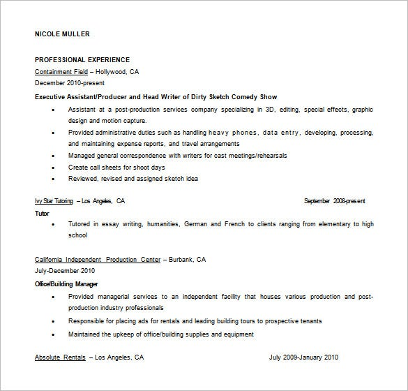 Fashion Designer Resume Format  Resume Format And Resume Maker