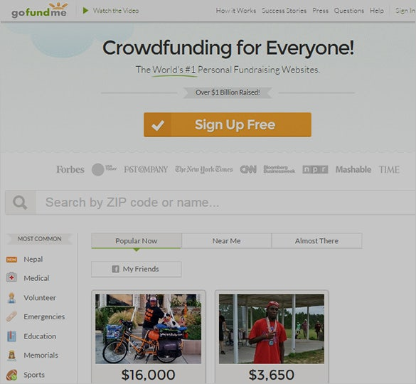 Ultimate Crownfunding Site