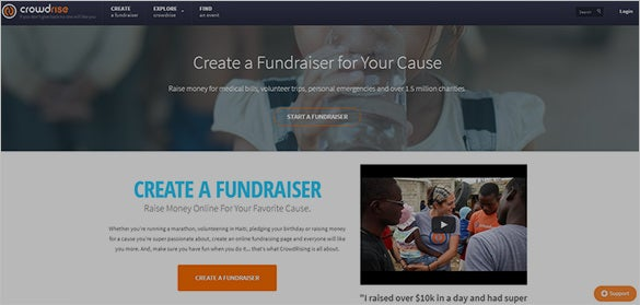 Crowdfunding Site Crowdrise