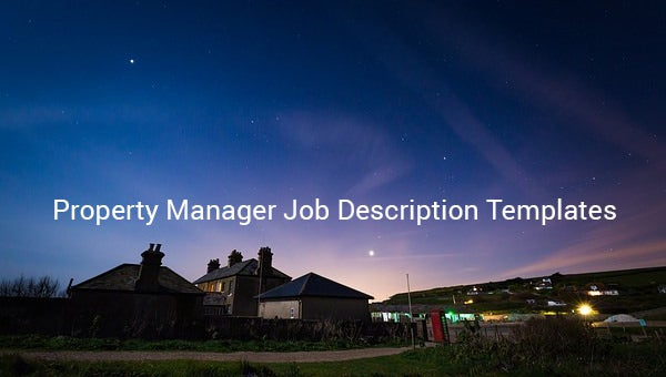 propertymanagerjobdescriptiontemplate