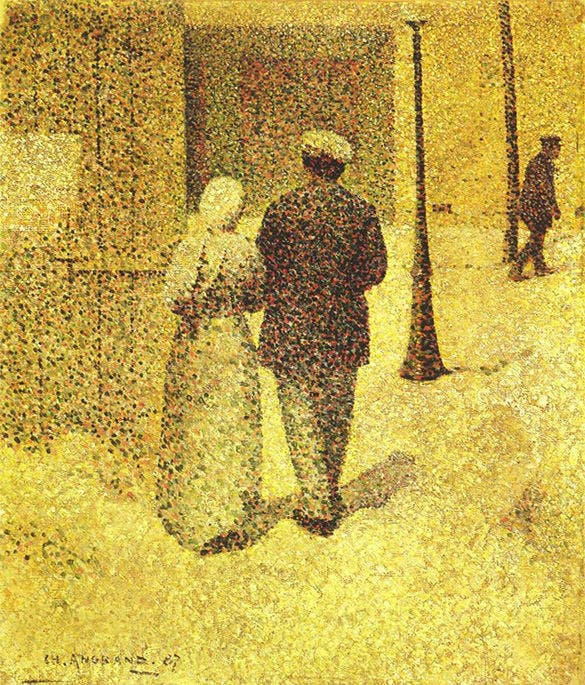 the best pointillism art example