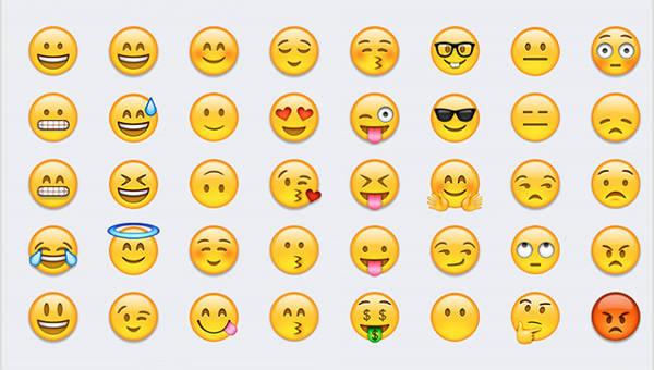 Liste zum kopieren emoticons Emojis zum