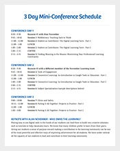 3-Days-Mini-Conference-Schedule-Template-PDF