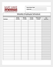 Restaurant-Weekly-Employee-Schedule-Form-Online