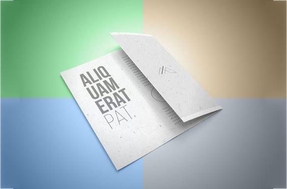 trifold brochure branding templates download