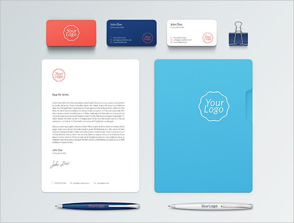 astonishing free branding template for you