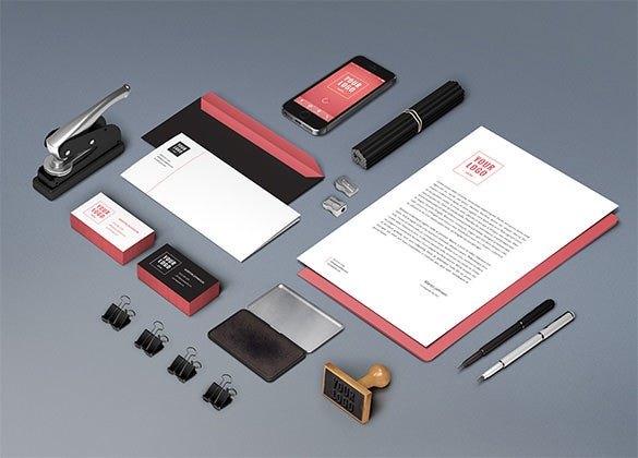 free branding stationary templates download