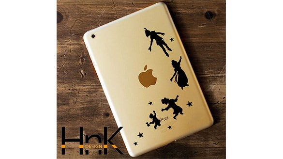 creative ipad stickers