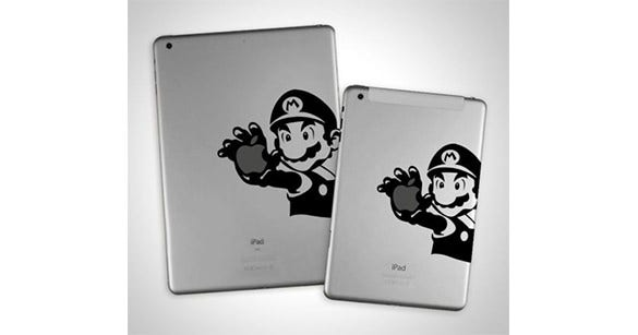 mario ipad stickers to download