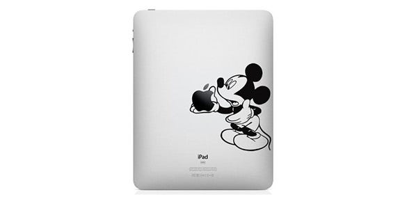 best mickey mouse ipad stickers