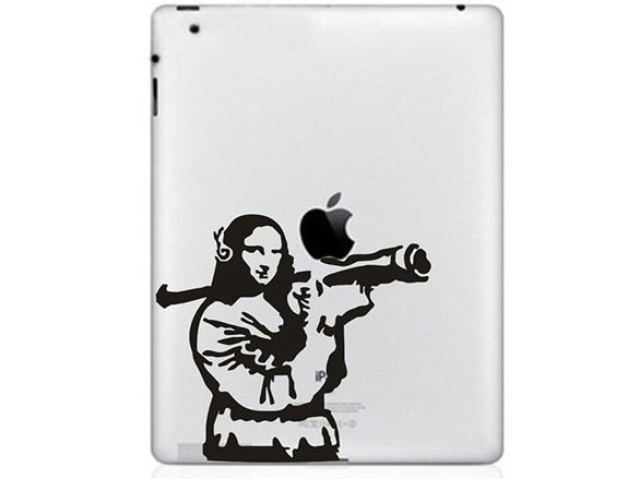 mona lisa ipad stickers