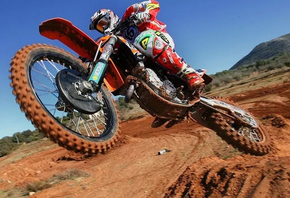 motocross fun google chrome background