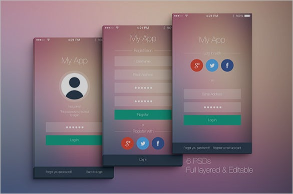 awesome mobile app designs