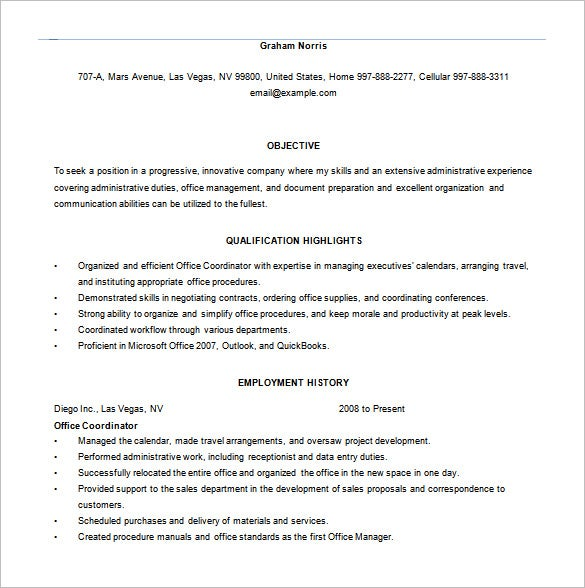 proffesional data entry resume template word if you have got a rich work experience for some years this is the resume for you as it offers you ample space