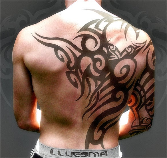 fabulous tattoo on back