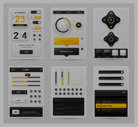 creative mobile app designs to download