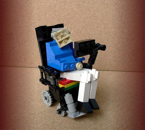 lego steven hawking awsome creation