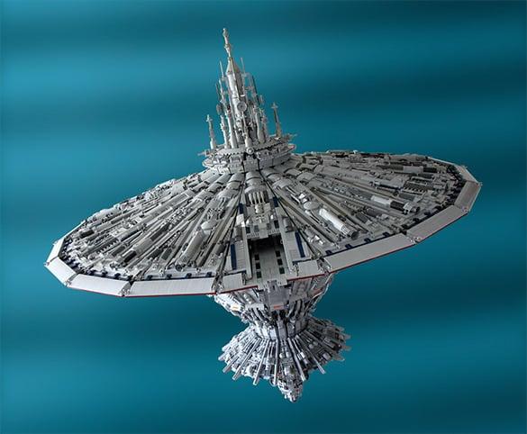 cetanclass baseship lego creation