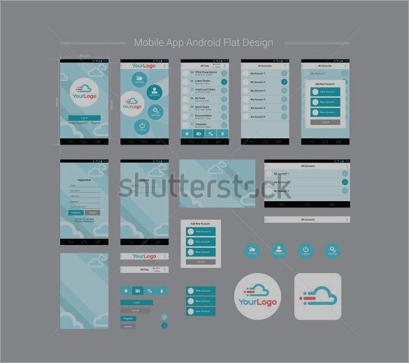40 awesome mobile app designs with great ui experience for Mobel design software