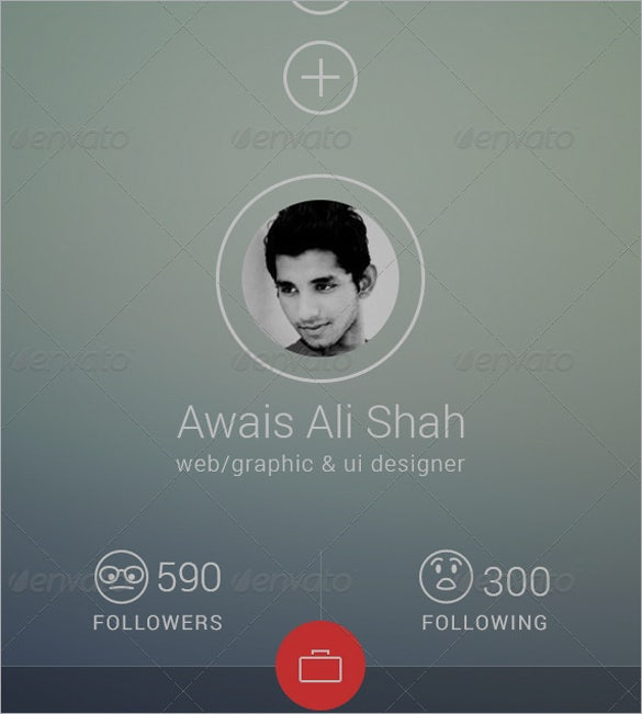 flat ui moblile app designs