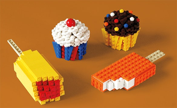 lego treats beautiful icecream creation