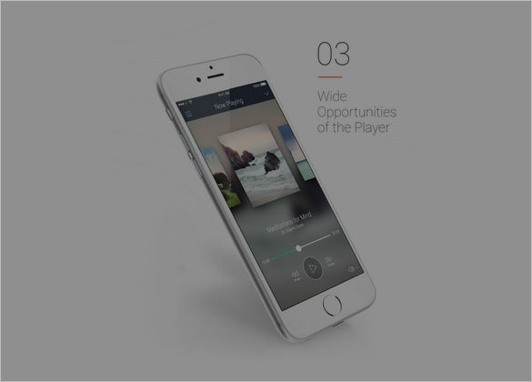 mobile app set designs