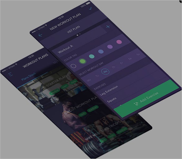 tracking mobile app designs