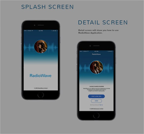 Awesome Mobile App Designs With Great UI Experience Free - Mobile app design templates