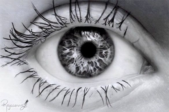 fabulous eye pencil drawing for free
