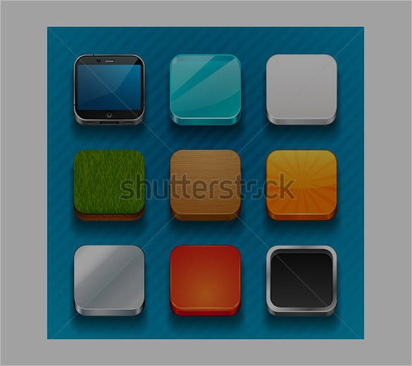 background app icons collection
